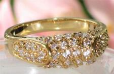 Anelli di bigiotteria zircone cubico in oro