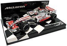 McLaren Mercedes MP4-22 F1 2007 Fernando Alonso scale 1:43 Minichamps NEW !!