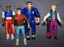 SET OF 4 JAMES BOND JR RETRO FIGURE TOYS SET | HASBRO | FREE P&P | UK SELLER
