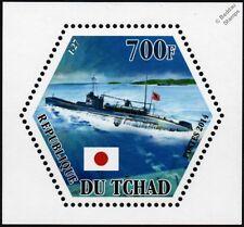 WWII IJN I-27 Imperial Japanese Navy Type B1 Submarine Warship Stamp