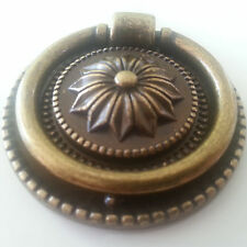 Vintage Bronze Kitchen Cabinet/Cupboard Door Handles Drawer Knobs Ring Pulls