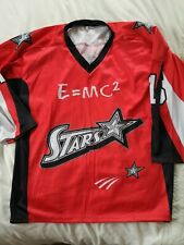 Stars ice hockey jersey shirt top adult large  in line roller