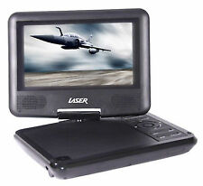 "Laser Portable 7"" Screen LCD USB DVD Player Car Multi Region All Zone Code"