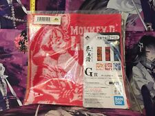One Piece Anime Monkey D. Luffy Square Towel
