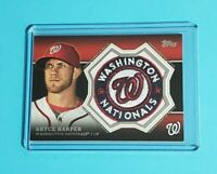 Bryce Harper Washington Nationals 2013 Topps Commemorative Team Patch