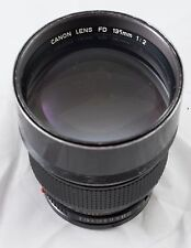 Canon FD 135mm F/2.0 (Optical formula similar to modern L)