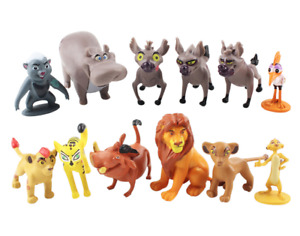 12Pcs The Lion King Simba Nala Timon Pumbaa PVC Action Figures Model Cake Topper