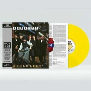 MADNESS ABSOLUTELY HMV CENTENARY LTD ED YELLOW VINYL LP NEW SEALED LTD TO 1000