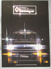 1979 Renault Accessories Brochure