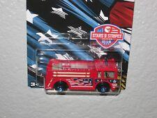F = 2015 Hot Wheels = Walmart Exclusive = Stars & Stripes #2 = Fire Eater Truck