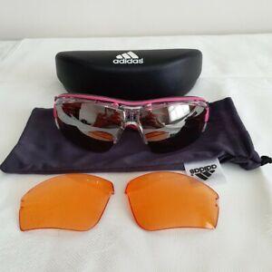 Adidas Evil Eye Halfrim Pro xs Sunglasses Crystal Pink