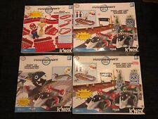 K'Nex Mario Kart Wii Starting Line/Chain Chomp/Expansion Pack, 4 Sets, 2 Are New