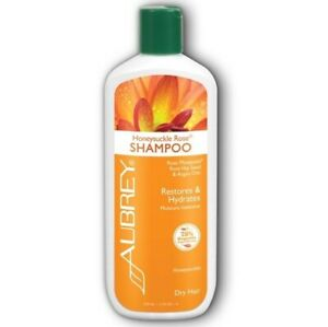 Aubrey Organics Honeysuckle Rose Shampoo Restores Hydrates Moisture Dry Hair11oz