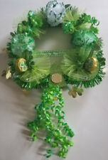 """St. Patrick's Day Wreath  (clearance) Size 14"""" x 20""""     Free shipping"""