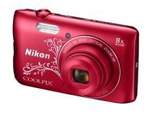 Kompaktkamera Nikon COOLPIX A300, 20.1MP rot DEMOWARE