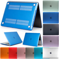 """Rubberized Hard Case + Keyboard Cover for Macbook Pro Retina 12"""" 13"""" 15"""" Inch"""