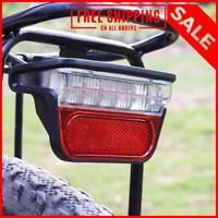 Electric Bike Light for Ebike Taillight DC 6V 12V 24V 36V 48V 60V Bicycle e-Bike