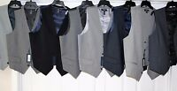 HART SCHAFFNER MARX MEN'S DRESS SUIT VEST M L XL MSRP: $150  NEW SEVERAL COLORS