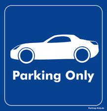 Parking Only - Opel GT - Aufkleber