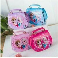 KIDS GIRLS ELSA ANNA SHOULDER BAG HANG BAG MESSENGER  DISNEY FROZEN XMAS GIFT