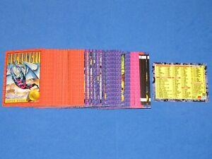 1993 X-MEN SERIES 2 SKYBOX MARVEL COMPLETE CARD SET #1-100 WOLVERINE DEADPOOL!!