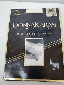 Donna Karan Mini Body Toners Sheer Satin Ivory Small 252