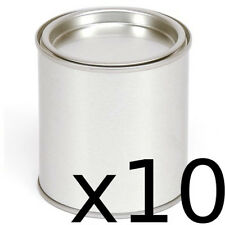 10 candle making metal tins. Like paint pot tins they make really cool candles