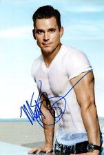 MATT Bomer SIGNED AUTOGRAFO 20x30cm Magic Mike in persona Autograph COA White col