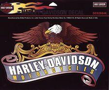 Harley Davidson pegatina/sticker old Eagle style 25,5 cm x 15,5 cm para exterior