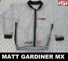 Stern Mud Jacket Clear Waterproof Rain Coat Xx-large Motocross BMX MTB