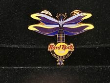 Hard Rock Cafe Madrid Dragonfly Guitar 2004 250 Limited.Edition Pin