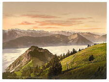 Rigi Scheidegg And Lake Lucerne Rigi A4 Photo Print