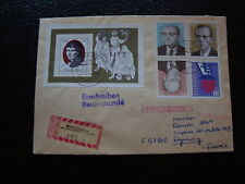 ALLEMAGNE RDA lettre 3/11/77 - timbre stamp germany (cy1)