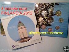 2012 8 monete 3,88 euro FINLANDIA finlande finland finnland I serie Финляндия