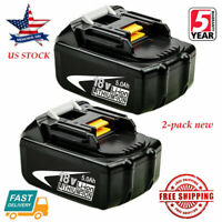 2X NEW 18V 5.0Ah LITHIUM ION BATTERY LXT FOR MAKITA BL1860 BL1830 US LATEST PACK
