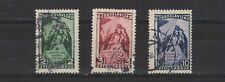 Yougoslavie 3e congrès du parti à Belgrade 1948  3 timbres /T2102