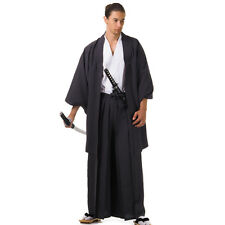 Traditional Japanese Samurai Kimono Set Kendo Gi Hakama Pants HAORI Jacket
