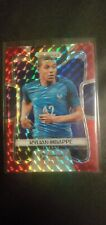 KYLIAN MBAPPE 2018 Prizm World Cup Red Mosaic ROOKIE CARD RC #80
