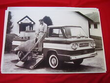 1961 CHEVROLET CORVAIR RAMPSIDE PICKUP    11 X 17  PHOTO /  PICTURE