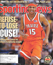 d5ba78a3a95e3a CARMELO ANTHONY SYRACUSE ORANGE SPORTING NEWS MAGAZINE APRIL 14