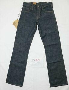 Jeans LEVI'S 507 Standard Fit Bootcut (NV10) W27 L32 Nuovo Vita Alta Dead Stock