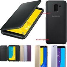 Genuine Samsung Flip Case Galaxy J6 2018 smart phone cover sm j600fn original