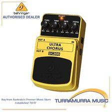 Behringer Guitar Effect FX Pedal Ultra Chorus UC200