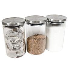 1200ml Vetro Tè Caffè Zucchero contenitori Stoccaggio Set CONTENITORI BARATTOLI PASTA RISO