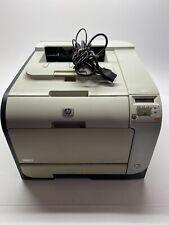 HP Color LaserJet CP2025 Color Laser Printer TESTED New Rollers