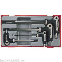 Teng Tools 7 Piece TORX Power T Handle STAR Allen Key Set T10-T40 in Case