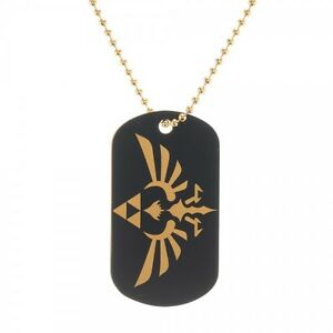 Official Nintendo ZELDA ~ SKYWARD SWORD DOG TAG With Chain Necklace Jewelry MENS