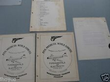 1957 Pan Am American Flying Clippers Maintenance Training Programs Memorandum