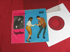 P.J. Proby  TOGETHER / HOLD ME - 7'' Single Decca DL 25148 sehr gut
