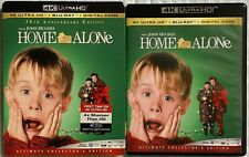 HOME ALONE 4K ULTRA HD BLU RAY 2 DISC + SLIPCOVER SLEEVE FREE WORLD WIDE SHIPPIN